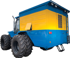 Сварочные установки на базе тракторной техники