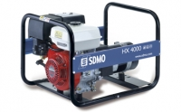 Бензогенератор  SDMO Intens HX 4000C