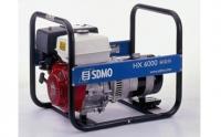 Бензогенератор  SDMO Intens HX 6000S