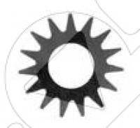 Комплект звёздочек для фрезеровальной машины GROST SM-200НС/200E